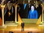 Торжественное собрание, посвящённое Международному Дню Учителя. Выступление губернатора Свердловской области