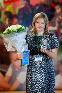 """Победительница конкурса """"Воспитатель года-2010"""""""